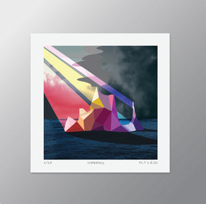 Iceberg  – Signed Limited Edition Print