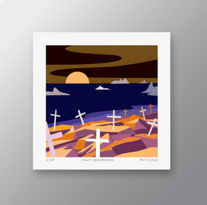 Inuit Graveyard  – Signed Limited Edition Print