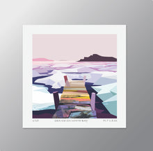 Carica l'immagine nel visualizzatore di Gallery, Sea Ice on White Bay  – Signed Limited Edition Print