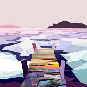 Sea Ice on White Bay  – Signed Limited Edition Print