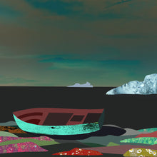 Load image into Gallery viewer, Boat Wreckage Near Battle Harbour II - Signed Limited Edition Print