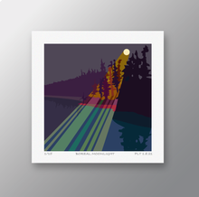 Load image into Gallery viewer, Boreal Moonlight – Signed Limited Edition Print