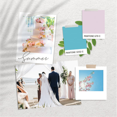 Wedding Colour Inspiration - Summer