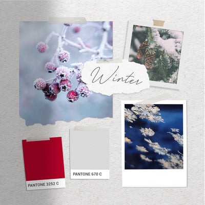 Wedding Colour Inspiration - Winter