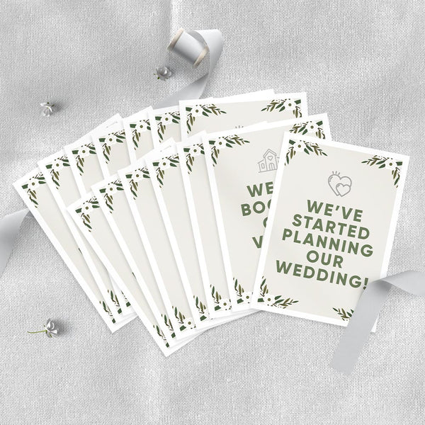 Wedding Milestone Cards