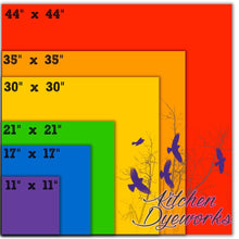 Load image into Gallery viewer, Set of 6 Playsilks - Rainbow Expansion Set