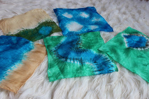 Landscape Playsilk Set ~ 5 Silks ~ Savannah, Icebergs, Beach, River, Pond