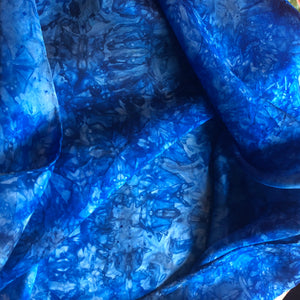 *NEW* Lake Water Deep Blue Multicolor Playsilk