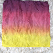 Load image into Gallery viewer, *NEW* Ombré Sunset Striped Playsilk ~ Yellow Orange Pink Purple