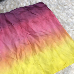 *NEW* Ombré Sunset Striped Playsilk ~ Yellow Orange Pink Purple
