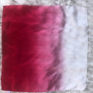 *NEW*  Holiday Ombré Red White Playsilk Scarf