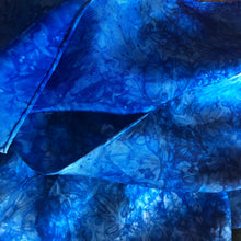 Load image into Gallery viewer, *NEW* Lake Water Deep Blue Multicolor Playsilk