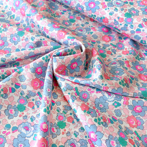 NEW Liberty Fabrics Tana Lawn: Betsy Neon Bloom
