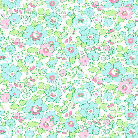 NEW Liberty Fabrics Tana Lawn: Betsy Watermelon