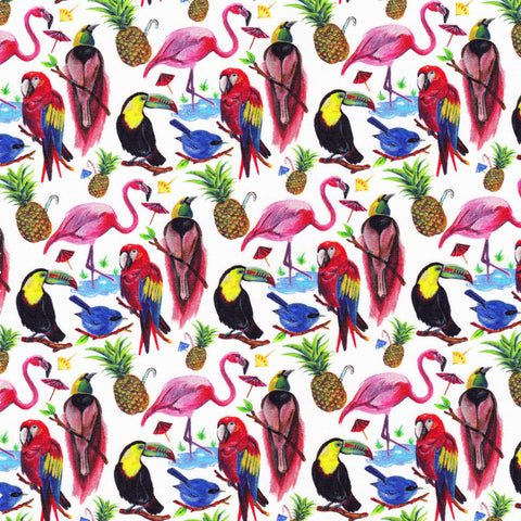 Liberty Fabrics Tana Lawn: Birds of Paradise (A)