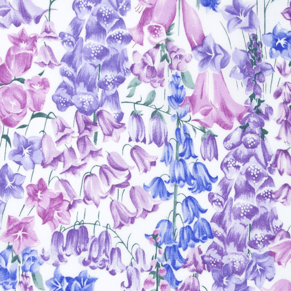 Liberty of London Tana Lawn: Birkbeck Purple (B)
