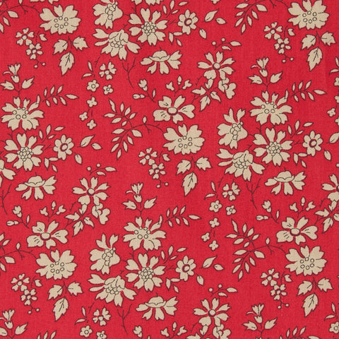 Liberty Fabrics Tana Lawn: Capel Red (F)