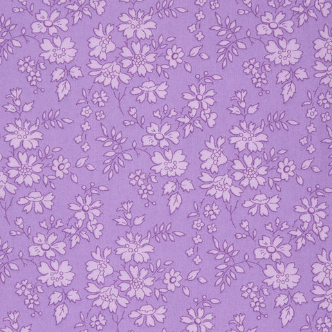 Liberty Fabrics Tana Lawn: Capel Purple (B)