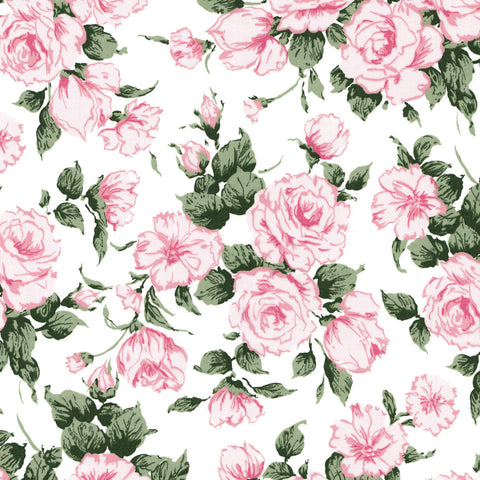 Liberty Fabrics Tana Lawn: Carline Rose (F)