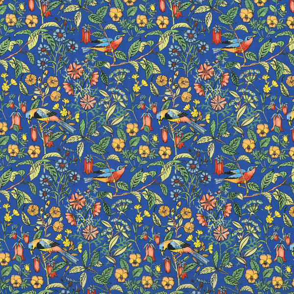Liberty of London Tana Lawn: Catesby Blue