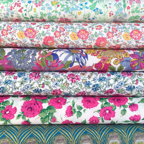Liberty Tana Lawn: Classic Revivals in Brights