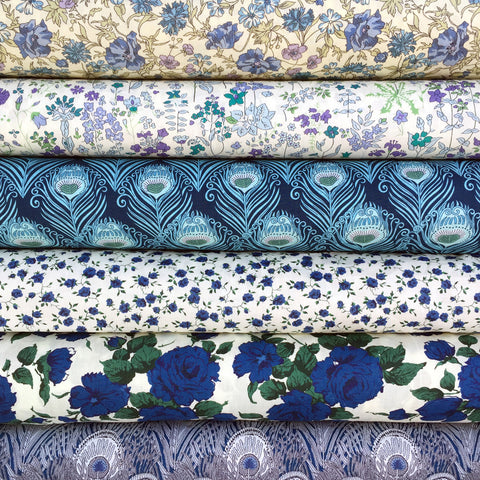 Liberty Tana Lawn: Classic Revivals in Blue