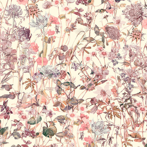 Liberty of London Tana Lawn: Wild Flowers Pink (F)