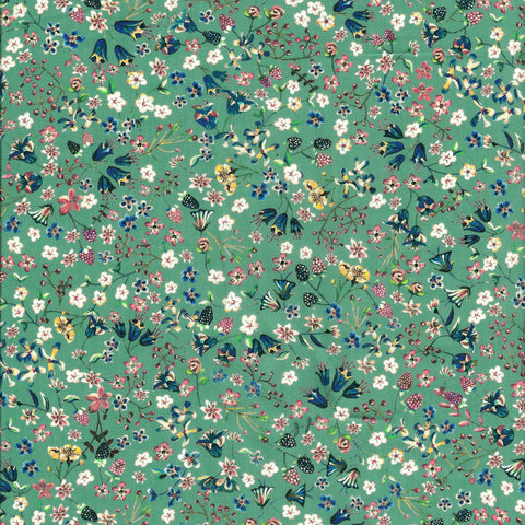 Liberty Fabrics Tana Lawn: Donna Leigh Green (D)
