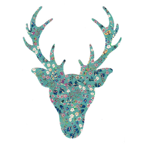 Die Cut: Large Stag Head: Donna Leigh Green