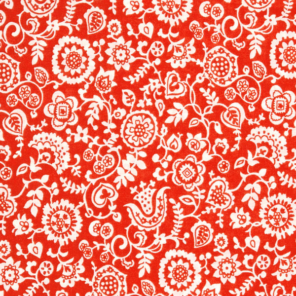 Liberty of London Tana Lawn: Emily Clare Red (B)
