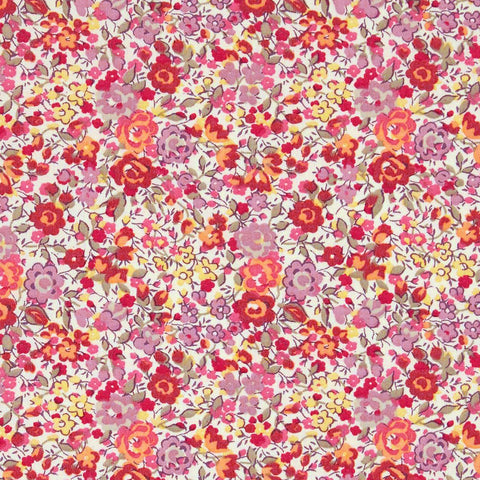 Liberty Fabrics Tana Lawn: Emma and Georgina Red (A)