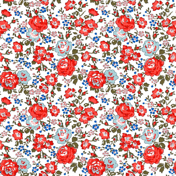 Liberty of London Tana Lawn: Felicite Red (D)