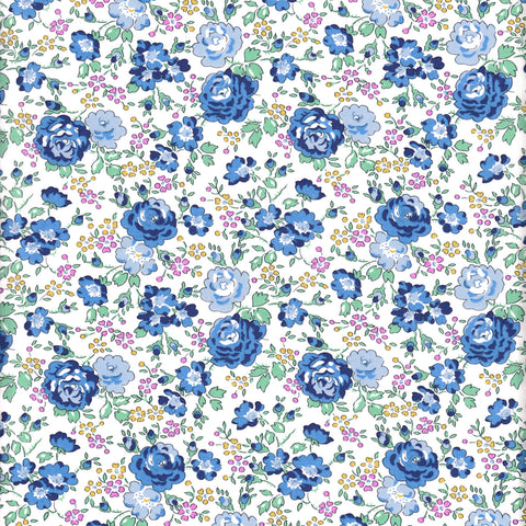 Liberty of London Tana Lawn: Felicite Blue (C)