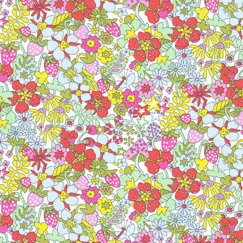 Liberty of London Tana Lawn: Flower Tops (A)