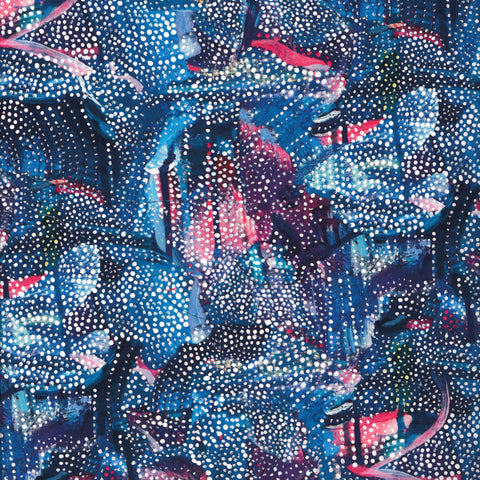 Liberty Fabrics Tana Lawn: Graffiti Dot (B)