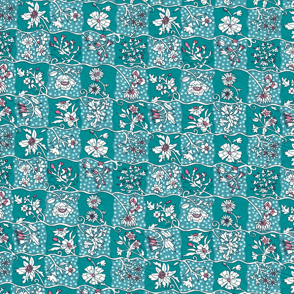 Liberty of London Tana Lawn: Gingham Garden (C)