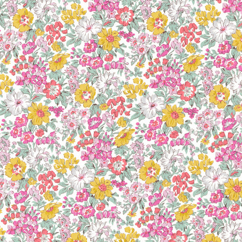 Liberty Fabrics Tana Lawn: Honey Dew (B)