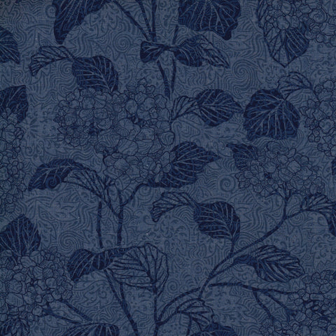 Liberty Colombo Chambray: Hortensia (A)