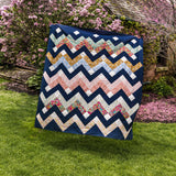 Thrive Quilt by Suzy Quilts – Throw Size in Classic Prints
