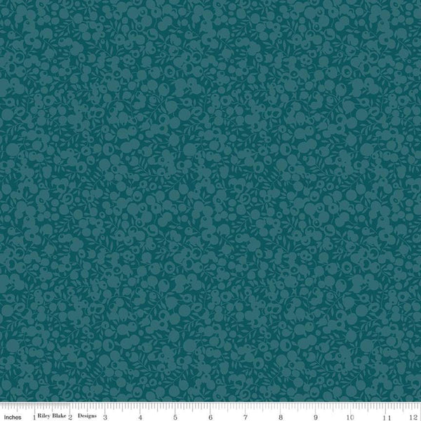Liberty Fabrics Quilting Cotton: Wiltshire Shadow Jade