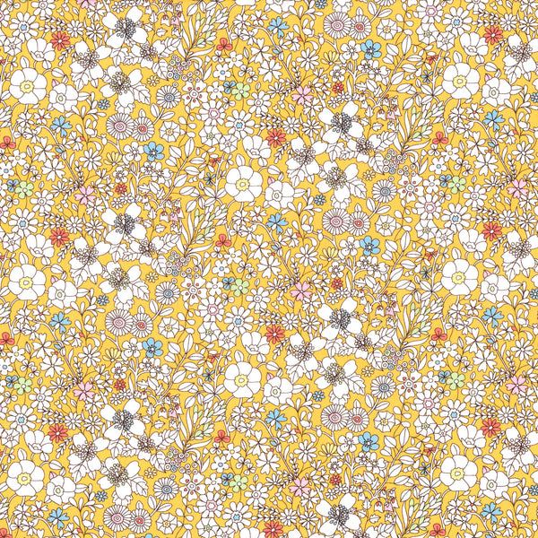 Liberty of London Tana Lawn: June's Meadow Yellow (C)