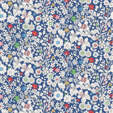Liberty of London Tana Lawn: June's Meadow Blue