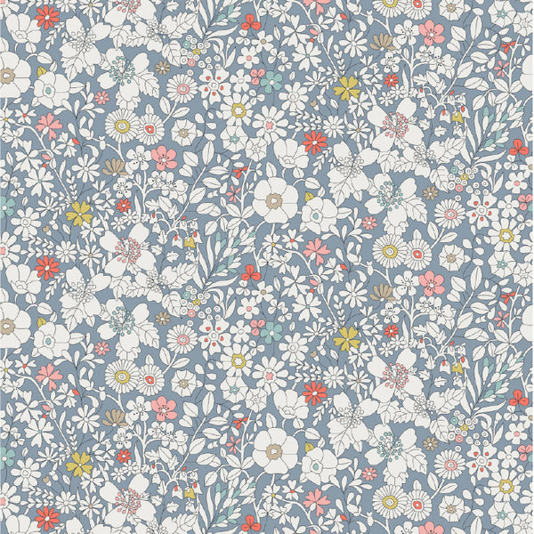 Liberty Fabrics Tana Lawn: June's Meadow Grey
