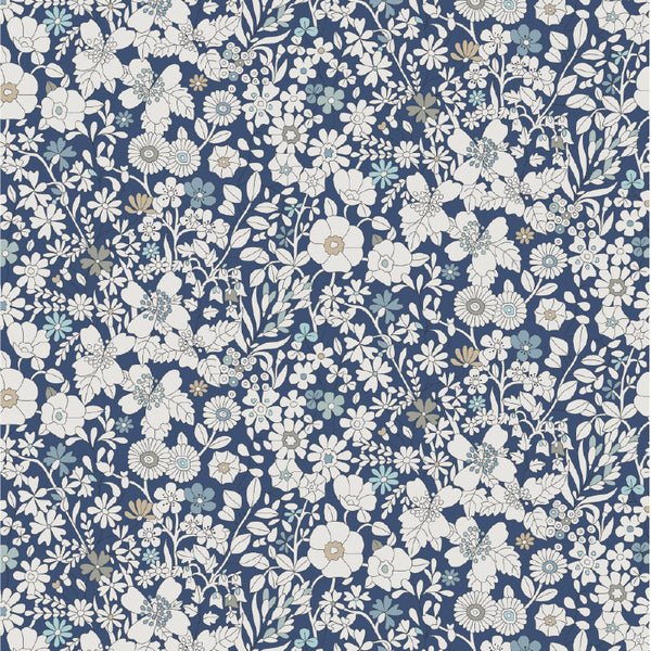 Liberty of London Tana Lawn: June's Meadow Navy