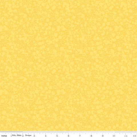 Liberty Fabrics Quilting Cotton: Wiltshire Shadow Lemon
