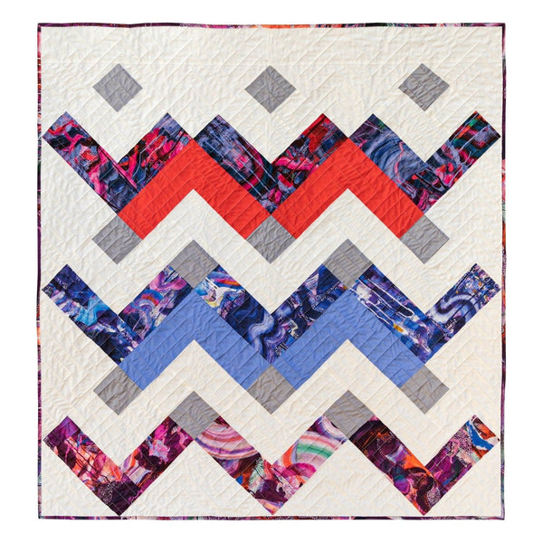 Thrive Quilt by Suzy Quilts – Baby Size in Emma Hill Prints