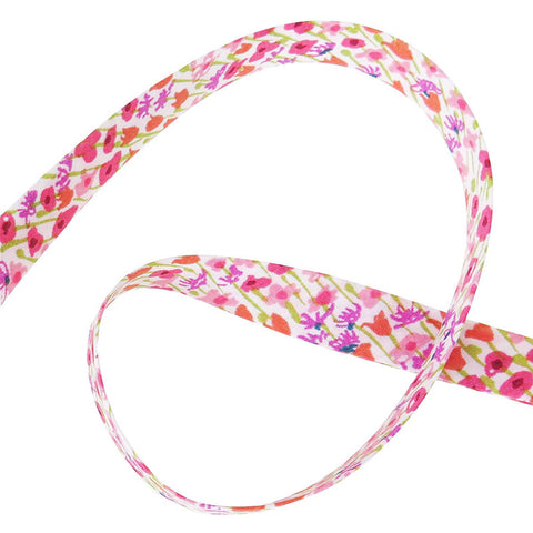 Bias Tape: Loveday Pink/Purple (D)