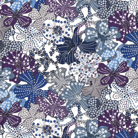 Liberty Fabrics Tana Lawn: Mauvey Blue/Purple (B)