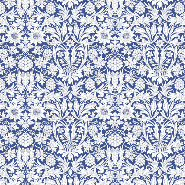 London Tana Lawn: Mortimer Blue (A)