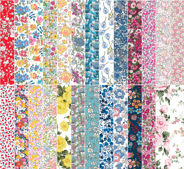 Fat Quarter Bundle: New Classic Collection Prints *26*